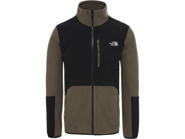 The North Face Glacier Pro Veste zippée Homme, new taupe green/tnf black